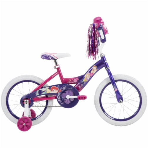 Huffy Disney Princess Bicycle - Pink/Purple Perspective: right