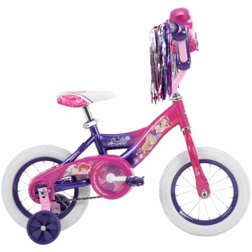 Huffy Disney Princess Girls' Bicycle - Pink/Purple Perspective: right