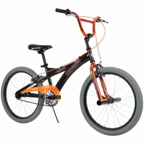 Huffy Spectre Bicycle - Orange/Black Perspective: right