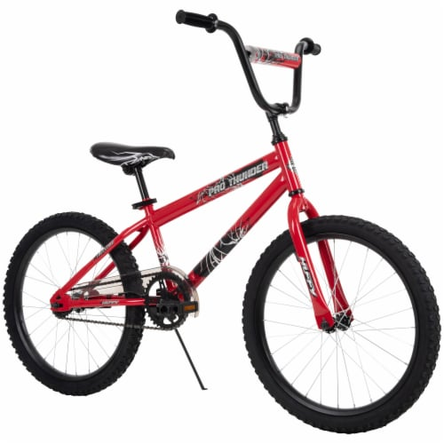 Huffy Pro Thunder Bicycle -  Red/Black Perspective: right
