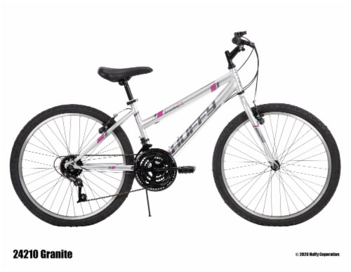 Huffy Girls' Granite Bicycle - Gray Perspective: right