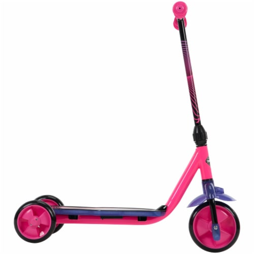 Huffy Neowave Electrolight 3-Wheel Scooter - Pink/Purple Perspective: right