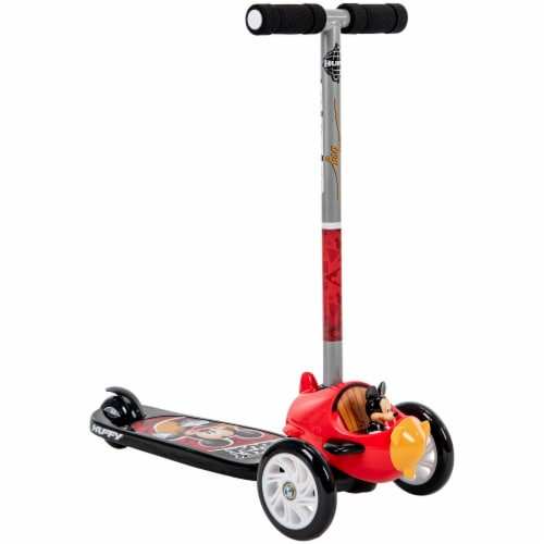 Huffy Mickey Mouse 3-Wheel Scooter - Red/Black Perspective: right