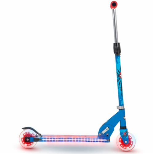 Huffy Spider-Man Inline Scooter - Red/Blue Perspective: right