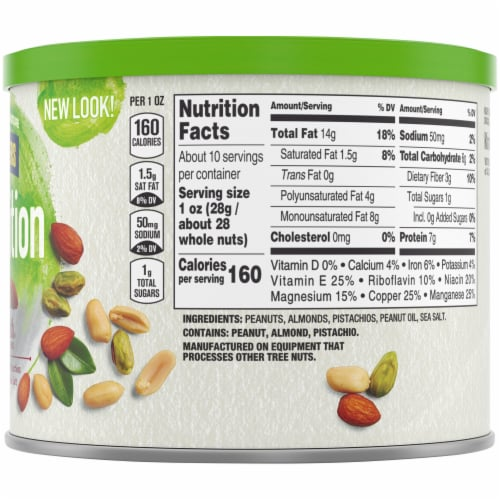 Planters Nut-rition Men's Health Recommended Nut Mix Perspective: right