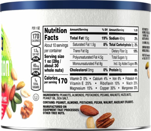 Planters NUT-rition Heart Healthy Mix Perspective: right
