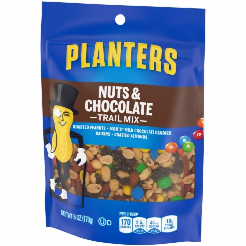 Planters Nut & Chocolate Trail Mix Perspective: right