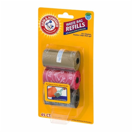 Arm & Hammer Waste Bag Refills Perspective: right