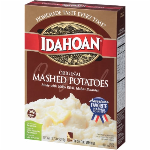 Idahoan Original Mashed Potatoes Perspective: right