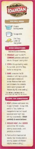 Idahoan Au Gratin Homestyle Casserole Potatoes Family Size Perspective: right