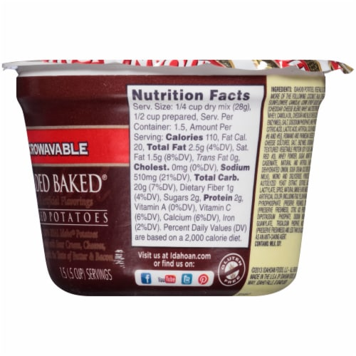 Idahoan Loaded Baked Cup Perspective: right