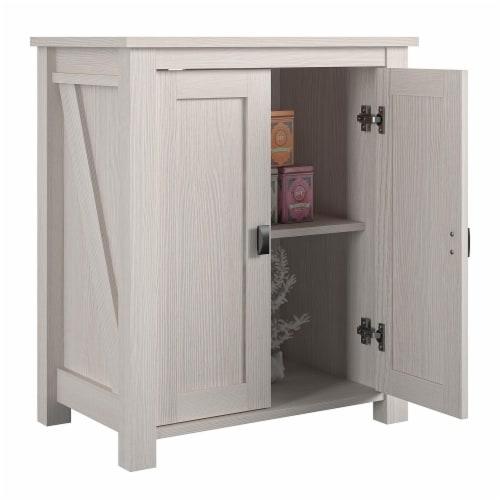 Farmington 10/20 Gallon Aquarium Stand, Ivory Oak Perspective: right