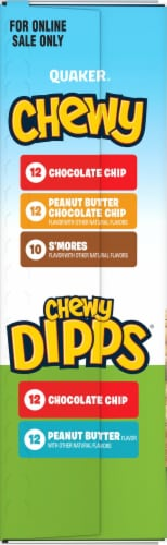Quaker Chewy Granola Bars & Chewy Dipps Variety Pack Perspective: right