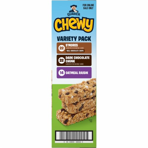 Quaker Chewy Granola Bars Variety Pack Perspective: right