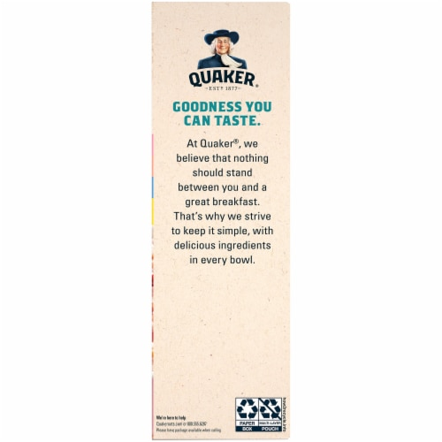 Quaker Fruit and Cream Instant Oatmeal Breakfast Variety Pack Perspective: right