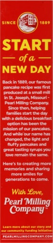 Pearl Milling Company Original Pancake & Waffle Mix Perspective: right