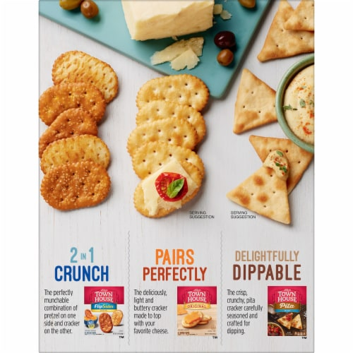 Town House Dippers Original Crackers Perspective: right