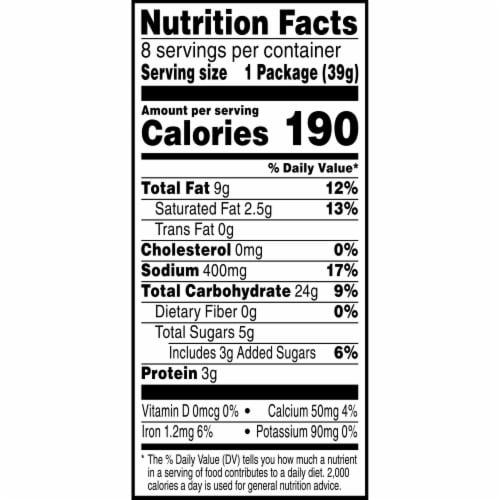 Keebler Pepper Jack Cracker Packs Perspective: right