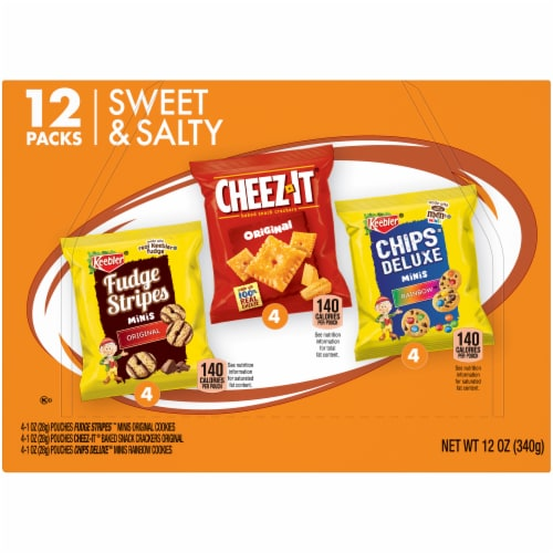 Keebler Sweet & Salty 3 Flavor Variety Pack Perspective: right
