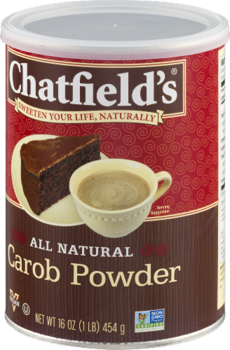 Chatfield's Carob Powder Perspective: right
