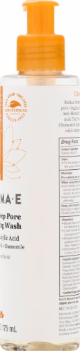 Derma-E Acne Deep Pore Cleansing Wash Perspective: right