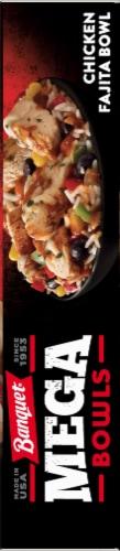Banquet Mega Bowls Chicken Fajita Bowl Dinner Perspective: right