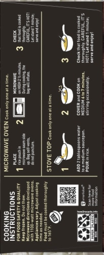 P.F Chang's Home Menu Steamed Jasmine Rice Meal Perspective: right