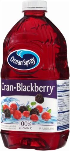Ocean Spray Cran-Blackberry Juice Drink Perspective: right