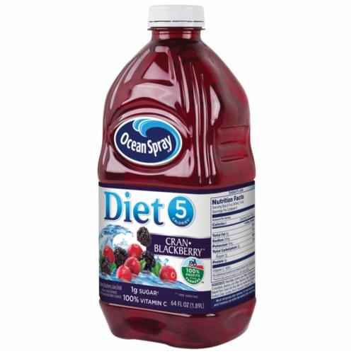 Ocean Spray Diet Cran-Blackberry Juice Drink Perspective: right
