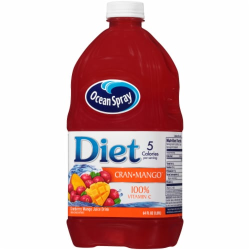 Ocean Spray Diet Cran-Mango Juice Drink Perspective: right