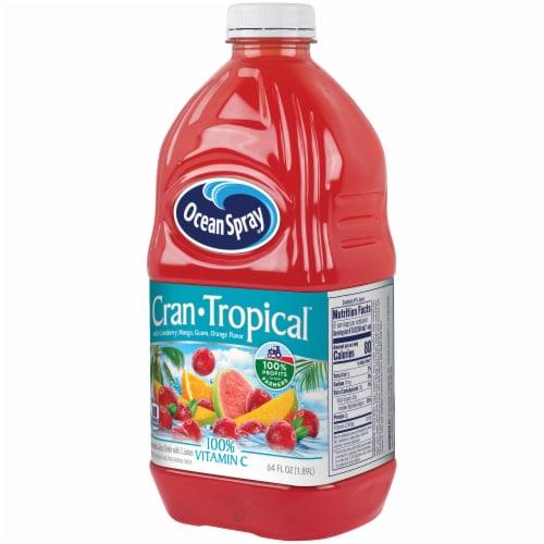 Ocean Spray Cran Tropical Juice Drink Perspective: right