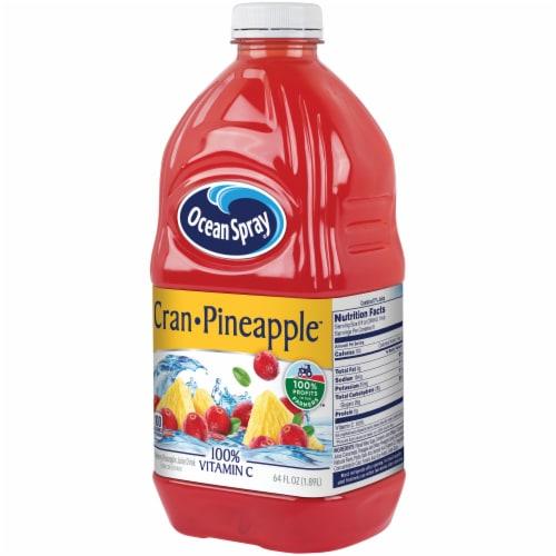 Ocean Spray Cran-Pineapple Juice Perspective: right