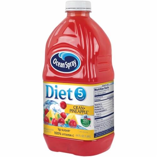 Ocean Spray Diet Cran-Pineapple Juice Drink Perspective: right