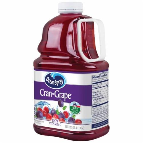 Ocean Spray Cran-Grape Juice Drink Perspective: right