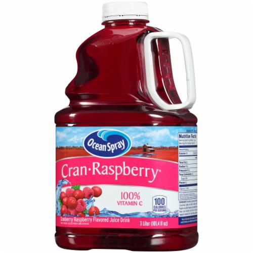 Ocean Spray Cran-Raspberry Juice Drink Perspective: right