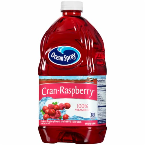 Ocean Spray Cran-Raspberry Juice Drink Perspective: right