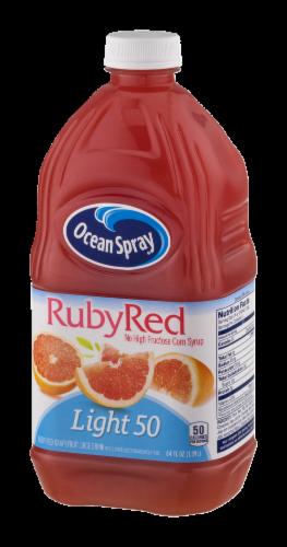 Ocean Spray Light 50 Ruby Red Grapefruit Juice Drink Perspective: right