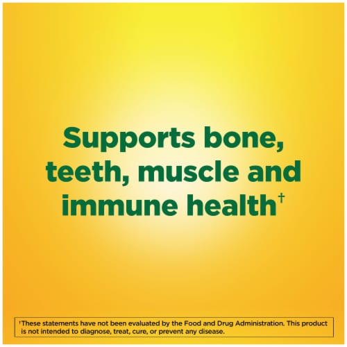 Nature Made® Vitamin D3 Softgels 50mcg Perspective: right