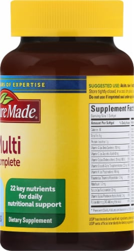 Nature Made Multi Complete Softgels Perspective: right