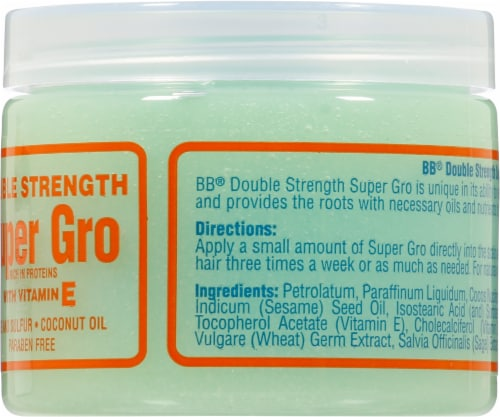 Bronner Brothers Super Gro Hair & Scalp Treatment Perspective: right