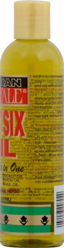 African Royal Hot Six Oil Perspective: right