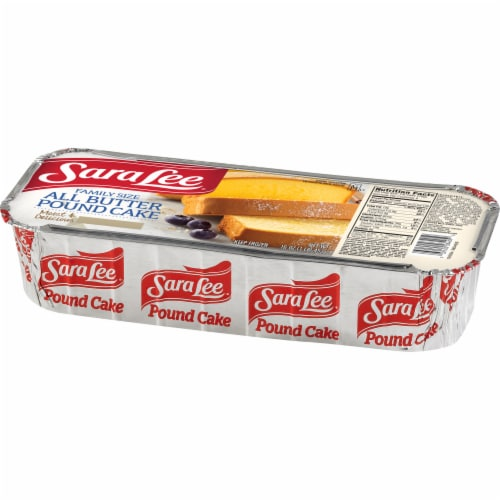 Sara Lee All Butter Pound Cake Perspective: right