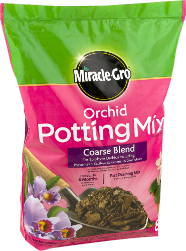 Miracle-Gro Orchid Potting Mix Coarse Blend Perspective: right
