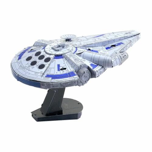 Fascinations Star Wars Lando's Millennium Falcon 3D Metal Model Kit Perspective: right