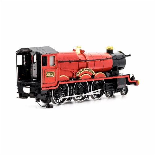 Fascinations Harry Potter Hogwarts Express Train 3D Metal Model Kit Perspective: right