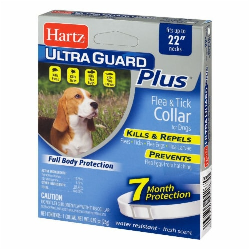 Hartz Ultra Guard Plus Flea and Tick Collar for Dogs Perspective: right