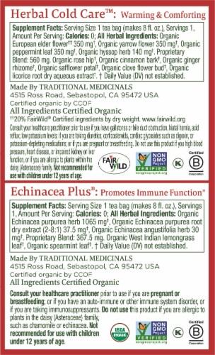 Traditional Medicinals Seasonal Sampler Tea Bags Perspective: right