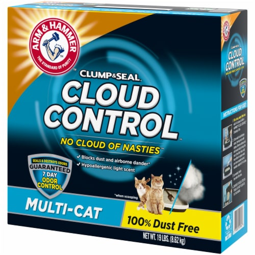 Arm & Hammer Cloud Control Multi-Cat Litter Perspective: right