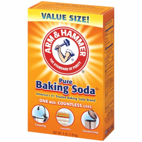 Arm & Hammer Pure Baking Soda Perspective: right