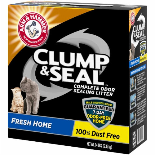 Arm & Hammer Clump & Seal Fresh Home Cat Litter Perspective: right